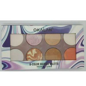 Okalan 8-Color Marble 🎨 palette
